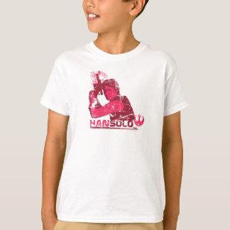 Han Solo Vintage Graphic Tee Shirt