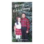 Hand Lettered Holiday Photo Card | Christmas