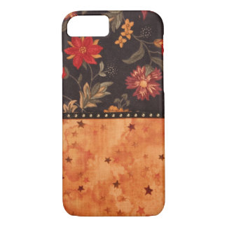 Hand sewn fabric, image iPhone 7 cover
