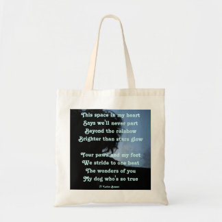 Handbag Poem Ode To Dogs By Ladee Basset Budget Tote Bag