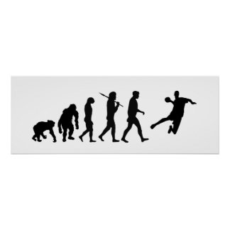Handball Huge Poster - handball evolution of sport