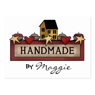 """""""Handmade By"""" Card - SRF Pack Of Chubby Business Cards"""