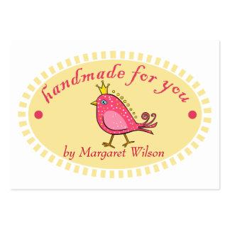Handmade For You Bird Business Cards