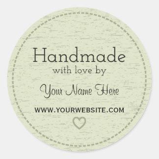 Handmade with Love   Handmade Business Stickers