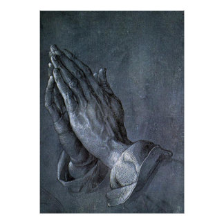 Hands of an Apostle - Reproduction Art Poster