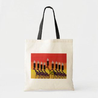 Hannukah Lights Budget Tote Bag