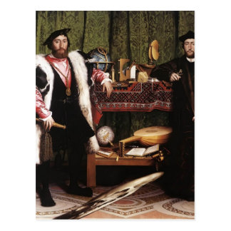 Hans Holbein the Younger- The Ambassadors Postcard