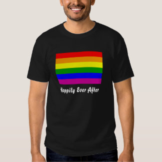 Happily Ever After/Gay Wedding T-shirt