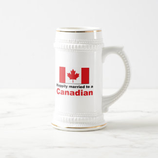 Happily Married To A Canadian Beer Steins
