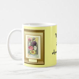 Happy 35th Anniversary, Floral group Basic White Mug