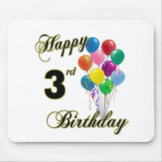 Happy 3rd Birthday Mousepad