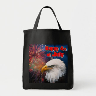 Happy 4th of July 1 Grocery Tote Bag