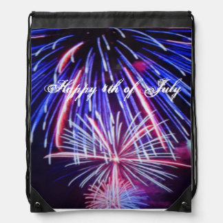 Happy 4th of July back pack Backpack
