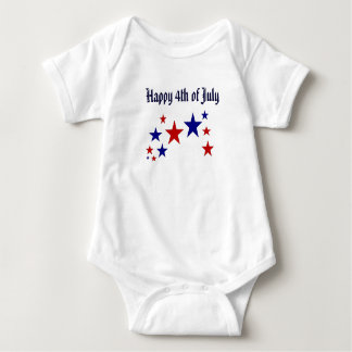 Happy 4th of July Stars T Shirt