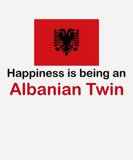 Happy Albanian Twin Shirts