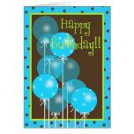 Happy Birthday Balloon Wishes! Greeting Card