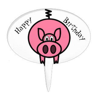 Happy Birthday Cake Toppers