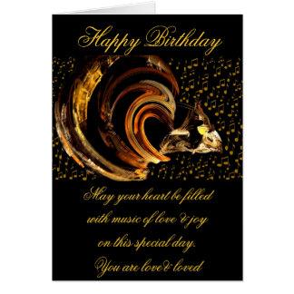 Happy Birthday_Card Note Card
