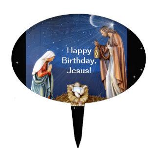Happy Birthday, Jesus! Cake Pick