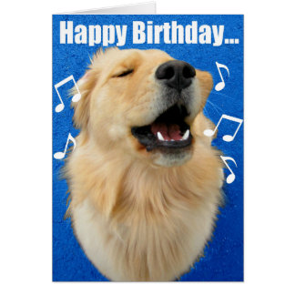 Happy Birthday Song to YOU! Greeting Card