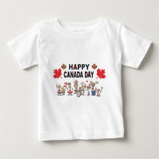 Happy Canada Day Baby T-Shirt