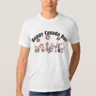 Happy Canada Day T Shirt