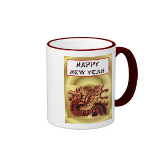 Happy Chinese New Year of the Dragon Vietnamese Ringer Mug