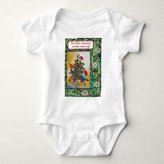 Happy Christmas tree & Christmas Elves Shirt