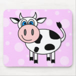 Happy Cow - Customisable! Mouse Pad