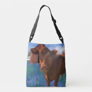 Happy Cow From West Marin Tote Bag