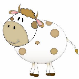 Happy Cow Photo Sculpture Decoration