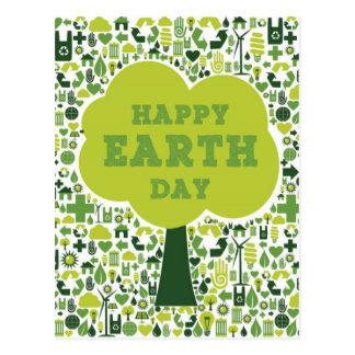 Happy Earth Day Postcard