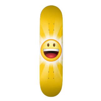 Happy Face Emoticon Skate Board Decks