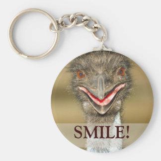 Happy Face Keychain