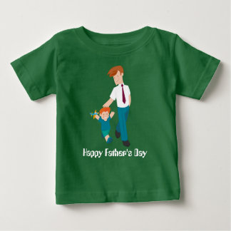 Happy Father's Day Baby Fine Jersey T-Shirts