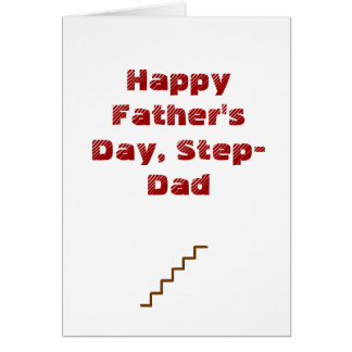 Happy Father's Day, Step-Dad Greeting Card