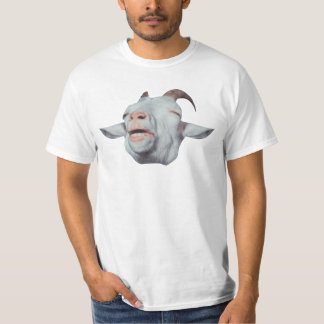 Happy Goat is Faded T Shirts