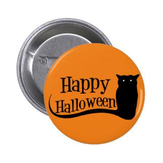Happy Halloween Owl Pin