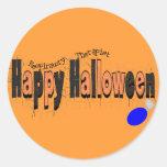 Happy HAlloween RT with AMBU Round Sticker
