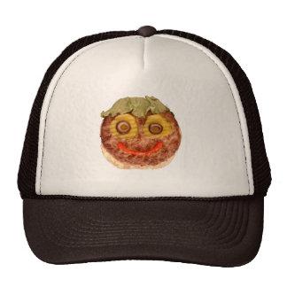 Happy Hamburger Cap