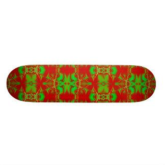 Happy Holidays Skate Board