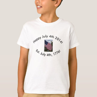 Happy July 4th, 2014! Kid's Shirt