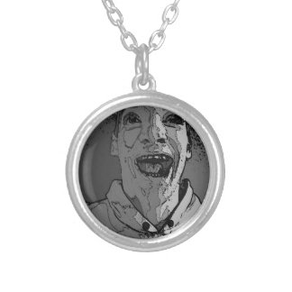 Happy Madness Round Pendant Necklace