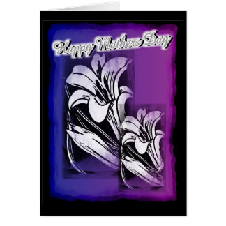 Happy Mothers Day Orchid Set Greeting Card