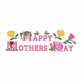 Happy Mothers Day Standing Photo Sculpture
