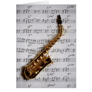 Happy Musical Birthday Note Card