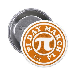Happy Pi Day March 14 6 Cm Round Badge