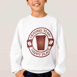 happy place coffee tea starbuck cup t-shirts