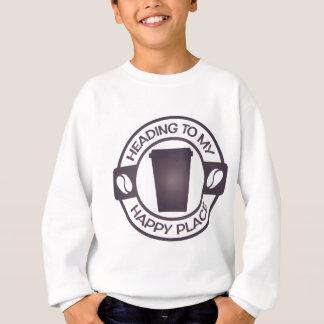 happy place coffee tea starbucks tshirt