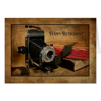 Happy Retirement for Photographer Greeting Card